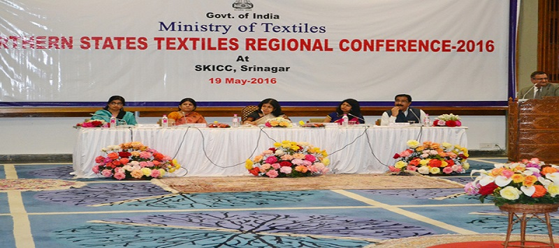 image of Northern States Textiles Regional Conference - 2016 at SKICC, Srinagar on 19th May , 2016