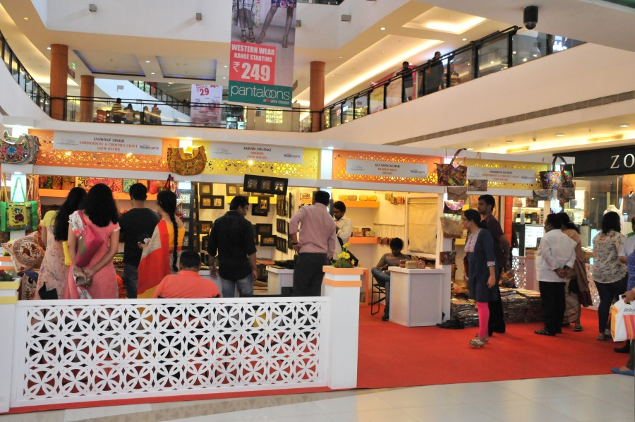 image of Thematic Exhibition on Handicrafts Products for the   benefit of SC artisans organized at INORBIT Cyberabad Mall, Hyderabad, Andhra Pradesh from 22nd to 26th June, 2016.