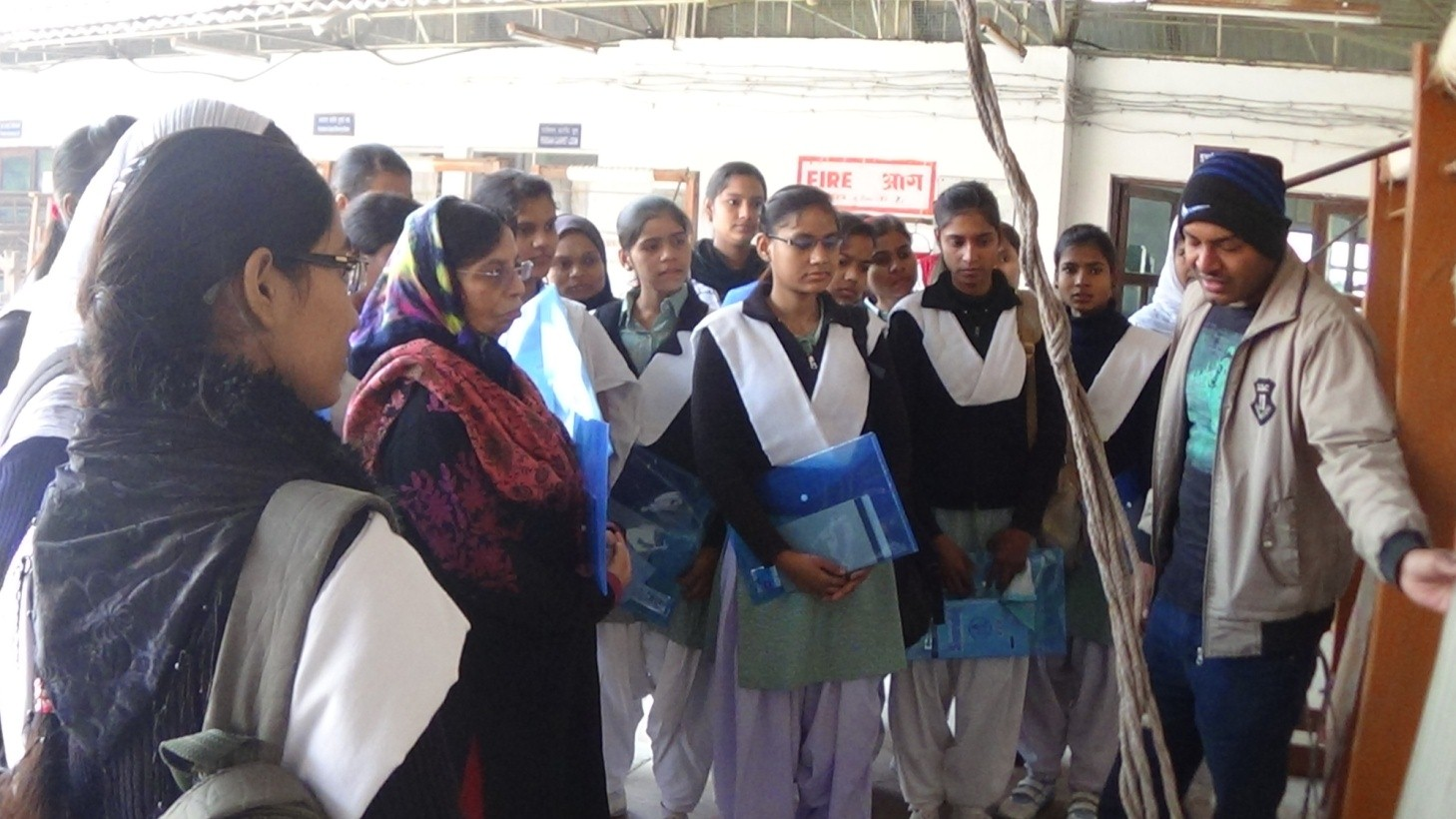 image of  Craft Awareness Programme in Carpet Making Crafts at IICT, Bhadohi among school children from 22.01.2015 and 23.01.2015 .