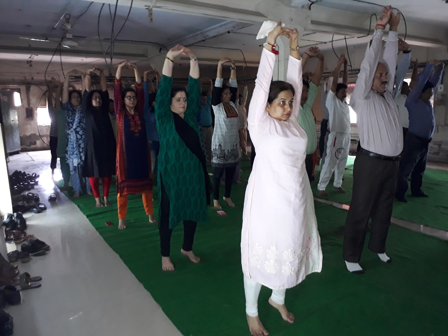 image of Yoga day Celebration Pics 2017